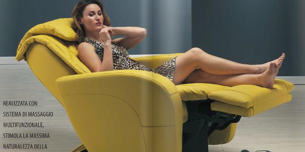 Poltrone massaggianti per il benessere psico-fisico