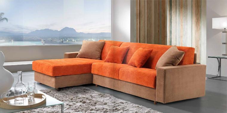 Divano angolare adattabile a qualsiasi tipo di soggiorno o for Divano angolare