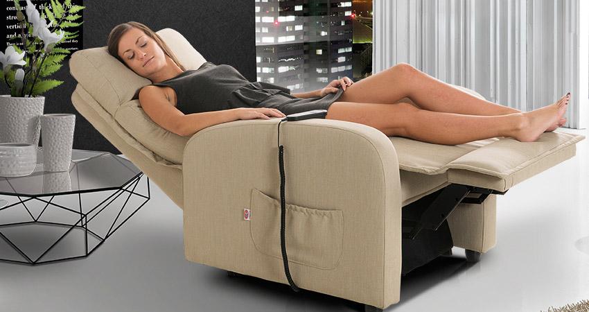 poltrone comode con sistema massaggiante