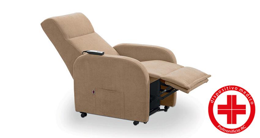 poltrona relax dispositivo medico